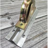 镀锌V槽Y型U形槽工业门梯形三角支架滑轮槽轮钢轮