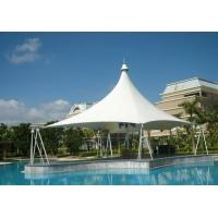 膜結構游泳池價格/張拉膜污水池加蓋
