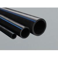 2寸黑色PE给水管_黑色塑料管子