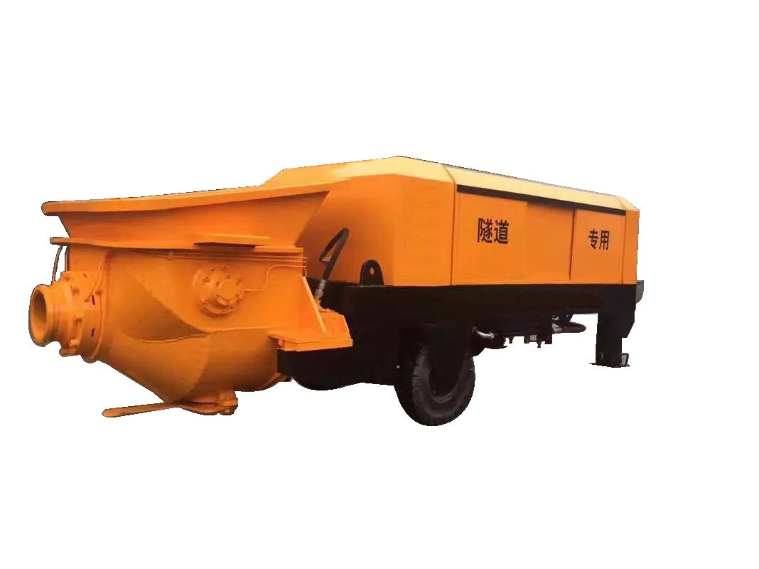 搅拌拖泵、隧道拖泵、拖泵、泵车、隧道专用拖泵
