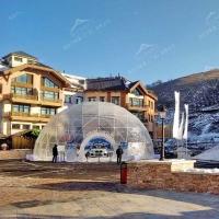 全透明15米球形篷房 車展活動演出圓形帳篷 施工便捷