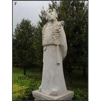园林景观十二生肖雕塑、石雕十二生肖人身兽首雕塑、石雕十二生肖