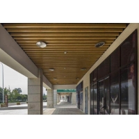 上海铝方通吊顶供应商-铝方通吊顶设计安装-规格样式齐全量大优