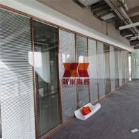 杭州玻璃高隔间办公室活动隔断屏风