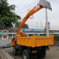 工程建筑用挖沙挖土挖 四驱吊挖一体机
