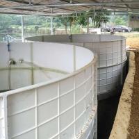 成都顺美厂家直销玻璃钢养鱼水箱/玻璃钢鱼池/养鱼池