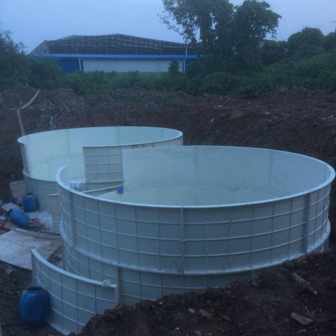 玻璃钢养鱼水池厂家