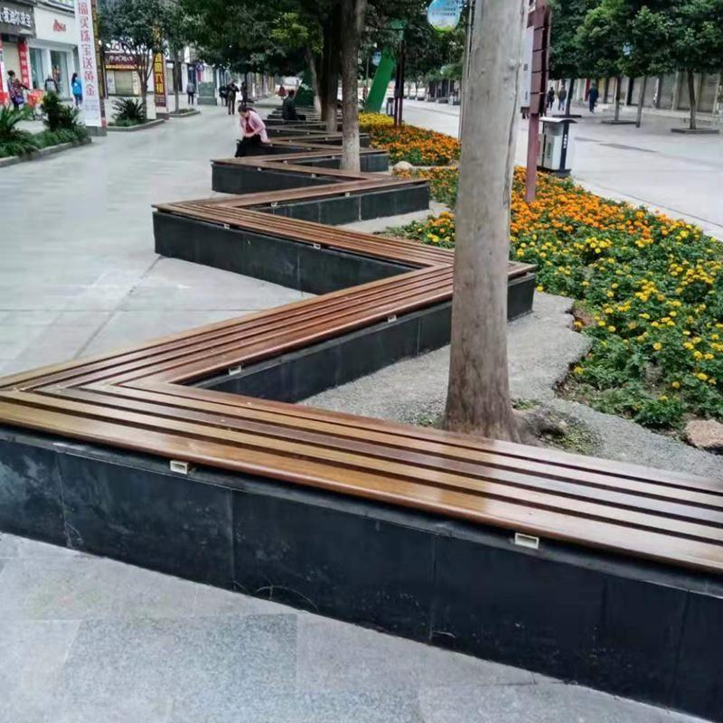 防腐木安装案例