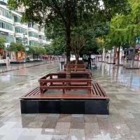防腐木户外休闲凳