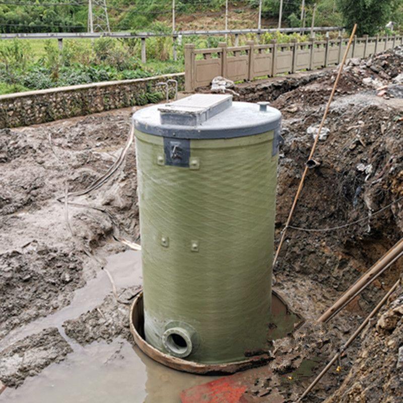 一体化玻璃钢污水泵站