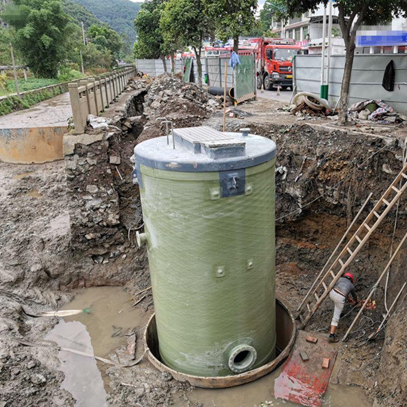 污水泵站安�b