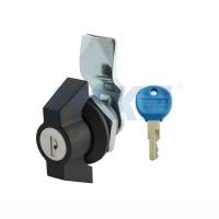 美科机箱机柜锁 W形把手锁MK405-5 平面锁 配电柜锁