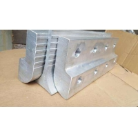 钢丝胶带铝合金夹板夹具 提升带夹板夹具