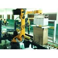 河北装箱码垛机器人 建材包装码垛线