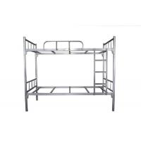 东莞市员工铁架床价格-宿舍双层铁架床承重力强