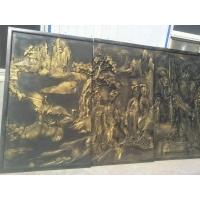 供应金晟高中密度板精雕工艺水泥板精雕浮雕立体雕刻