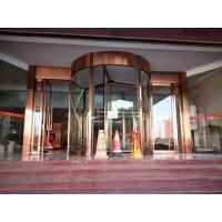 上海松下两翼旋转门安装商场旋转门水晶旋转门