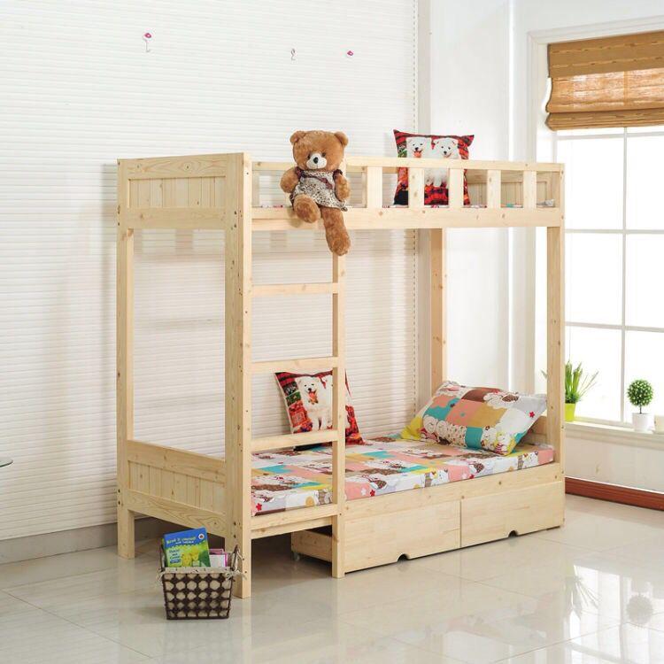成都区域学生床实木高低床定做送货上门