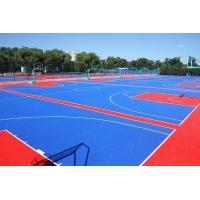幼稚园悬浮拼装地板、球场拼装地板、环保优质地板