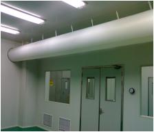 凈化纖維織物布風管