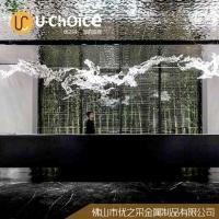 深圳優之采不銹鋼屏風隔斷酒店裝飾工程