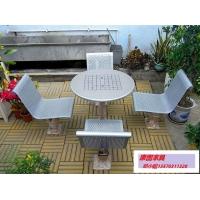 北欧室外桌椅铁艺 户外铁艺桌椅 园林桌椅批发