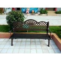 户外铸铝公园椅报价 室外铁艺休闲长椅公园椅