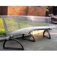 室外园林铁艺靠背椅 新款公园休闲椅长条椅