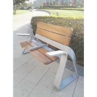 新款休闲园林椅子 不锈钢靠背椅户外