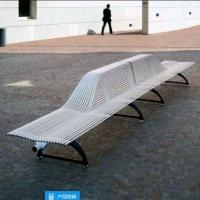 户外异形座椅 不锈钢弧形坐凳 不锈钢异形坐凳