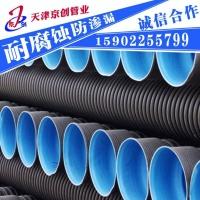 HDPE双壁波纹管、PE钢带增强螺旋波纹管