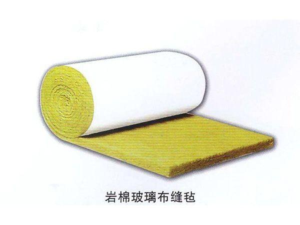 岩棉玻璃布缝毡