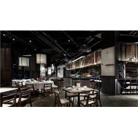 中餐厅中式实木餐桌