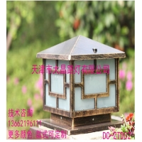天津大昌厂家低价直供门口墙头围墙灯户外防水柱头灯