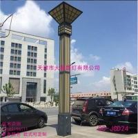 中式景观灯柱6米广场灯公园小区方灯