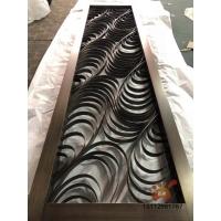 青古銅不銹鋼滿焊屏風、打造高檔裝飾建材不銹鋼玄關隔斷圖