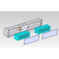回风箱式风机盘管电子空气净化机(图)