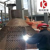 耐磨涂料 陶瓷涂料 凯策龟甲网焊接防磨涂料
