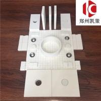 氧化铝耐磨陶瓷片 余热发电风管陶瓷片 耐磨陶瓷衬板