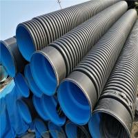 贵州联塑HDPE双壁波纹管大口径市政排污排水专用