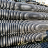 贵州联塑HDPE钢带增强螺旋波纹管批发DN300