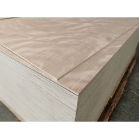 乐晨多层板桃花芯奥古曼胶合板家具板贴面板