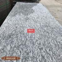 【广西恒石通】 浪花白大理石 条板 光面 石材批发
