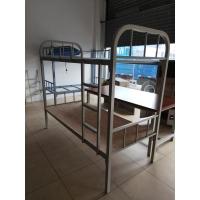 顺德工地角铁床50方管铁床子母铁床上下铺铁架床