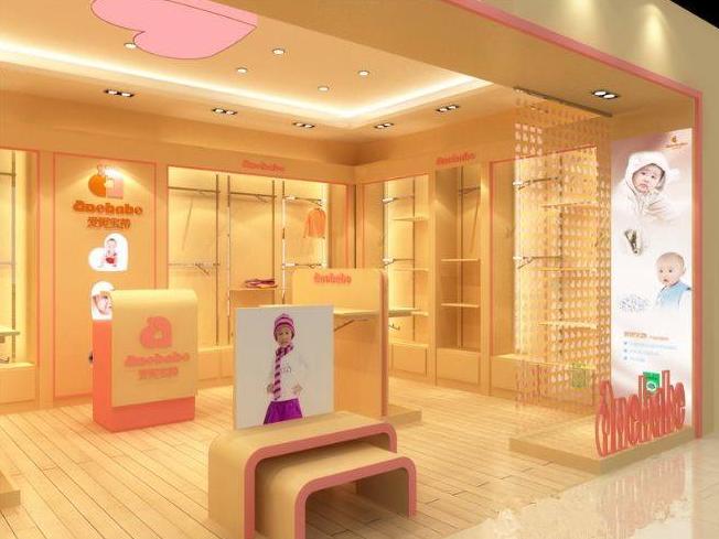 成都童装店展示柜 成都母婴店展柜生产