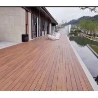 重竹木地板安裝施工戶外高耐重竹木地板深碳色貴隆木業