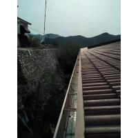 北京彩铝天沟檐沟别墅屋檐雨水槽落水系统檐槽排水槽