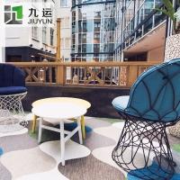 環保PVC編織地毯廠家現貨供應 BOLON同款波龍地毯