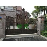 綠夏定制鑄鋁庭院門適用于別墅大門庭院大門平開門平移門