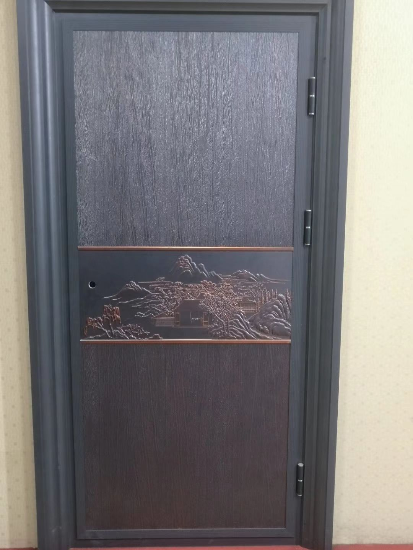 入户防盗门软包效果图